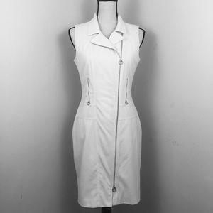 EUC Calvin Klein Dress. White. Sz. 4